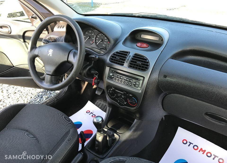 Peugeot 206 1,4 HDI 68 KM Czarny Klima Elektryka Opłacony Zobacz !!! 79