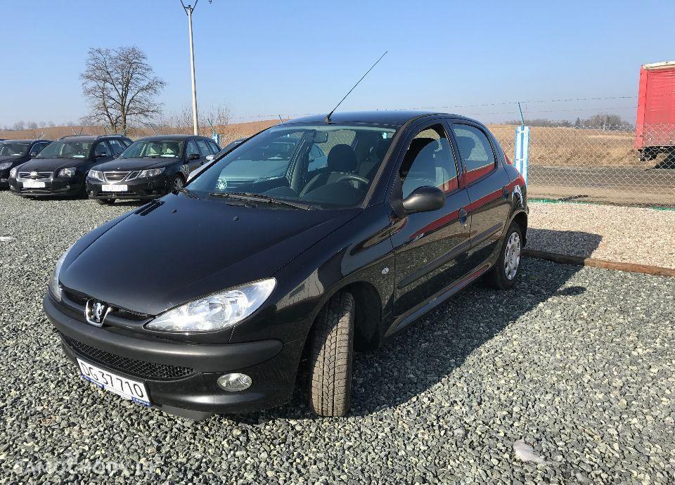 Peugeot 206 1,4 HDI 68 KM Czarny Klima Elektryka Opłacony Zobacz !!! 11