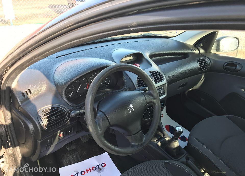 Peugeot 206 1,4 HDI 68 KM Czarny Klima Elektryka Opłacony Zobacz !!! 56