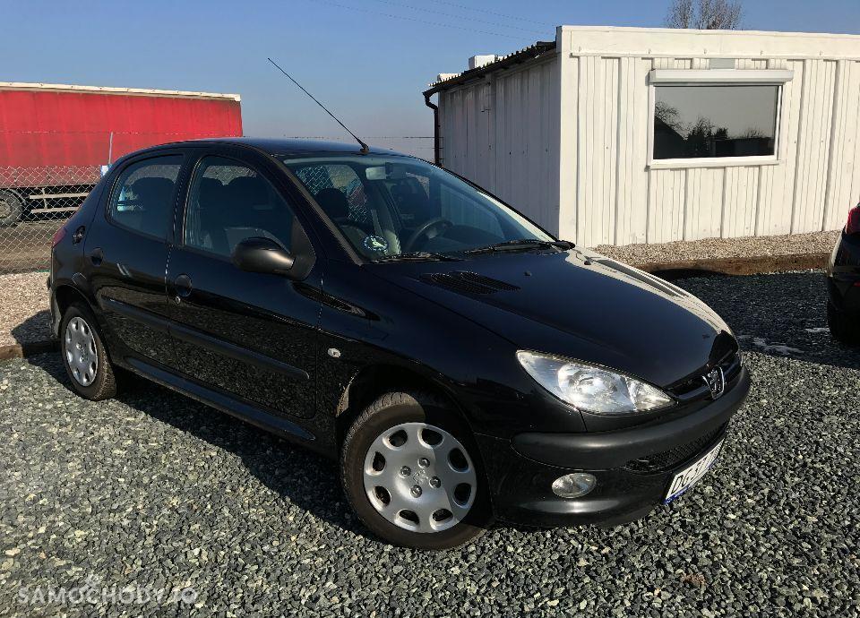 Peugeot 206 1,4 HDI 68 KM Czarny Klima Elektryka Opłacony Zobacz !!! 1