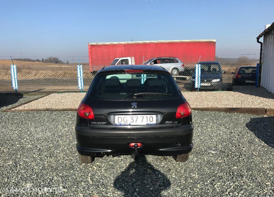 Peugeot 206 1,4 HDI 68 KM Czarny Klima Elektryka Opłacony Zobacz !!! 22