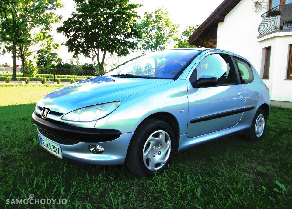 Peugeot 206 PEUGEOT 206 1.4i 75KM KLIMA z NIEMIEC Opłacony 1