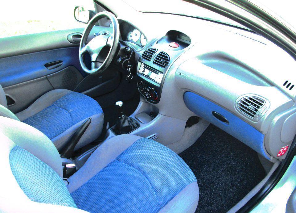 Peugeot 206 PEUGEOT 206 1.4i 75KM KLIMA z NIEMIEC Opłacony 37