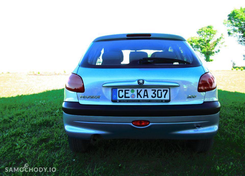 Peugeot 206 PEUGEOT 206 1.4i 75KM KLIMA z NIEMIEC Opłacony 4