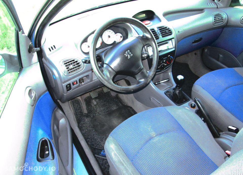 Peugeot 206 PEUGEOT 206 1.4i 75KM KLIMA z NIEMIEC Opłacony 56