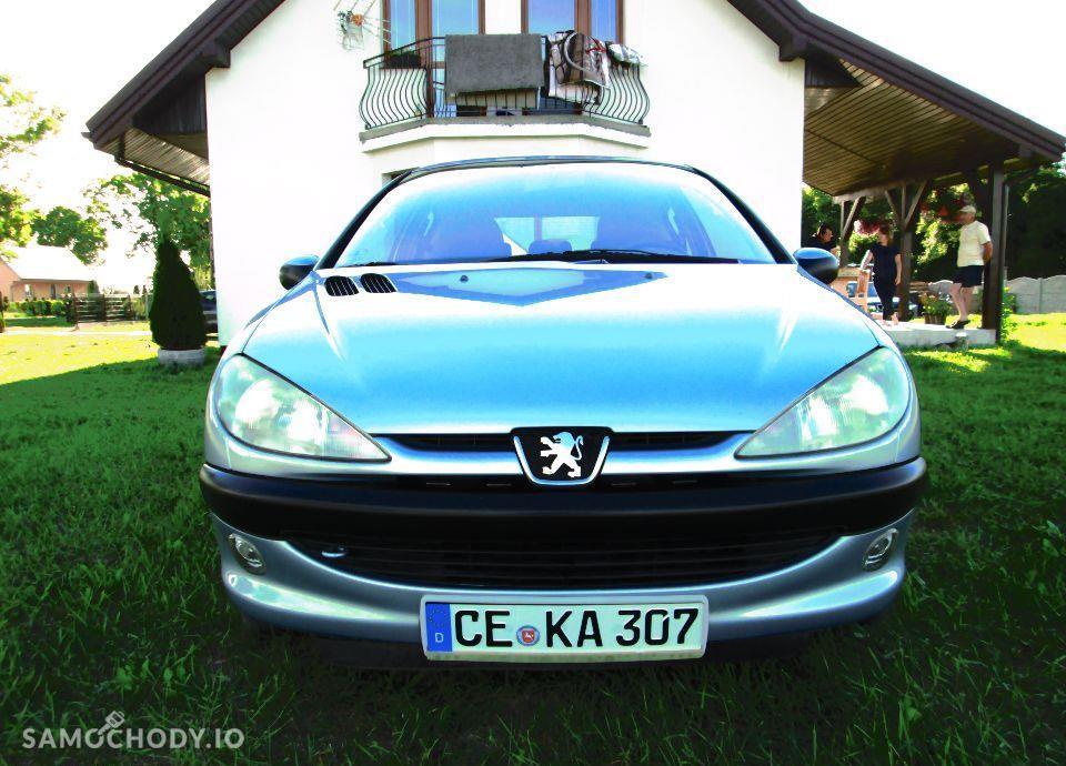 Peugeot 206 PEUGEOT 206 1.4i 75KM KLIMA z NIEMIEC Opłacony 22