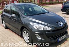 peugeot 308 t7 (2008-2013) Peugeot 308 1.6 HDI 110KM serwis w ASO 100% Bezwypadkowy Nawigacja