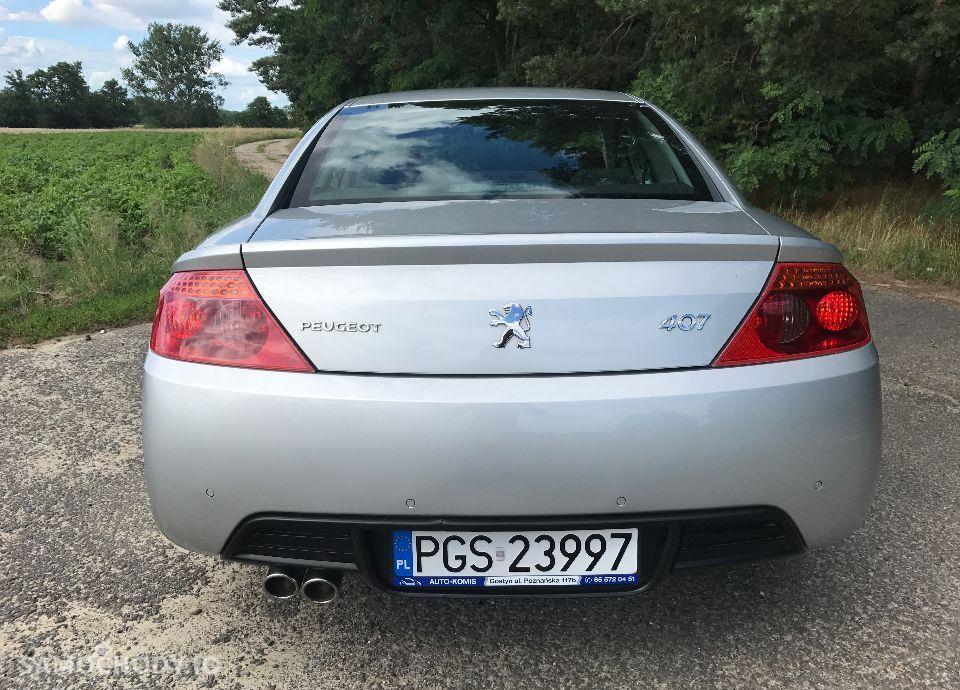 Peugeot 407 Coupe 2,7 HDI 204 KM Bardzo Ładny Mały Przebieg Zarejestrowany !!! 11