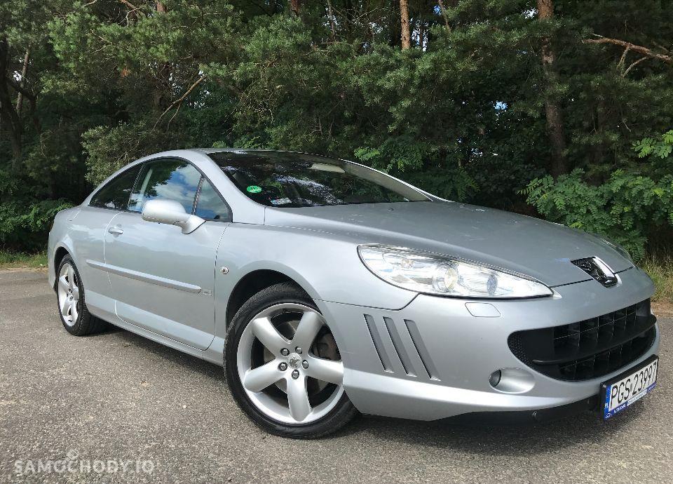 Peugeot 407 Coupe 2,7 HDI 204 KM Bardzo Ładny Mały Przebieg Zarejestrowany !!! 22