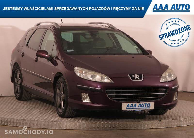 Peugeot 407 2.0, GAZ, Klimatronic, Tempomat, Parktronic, Dach panoramiczny,ALU 1