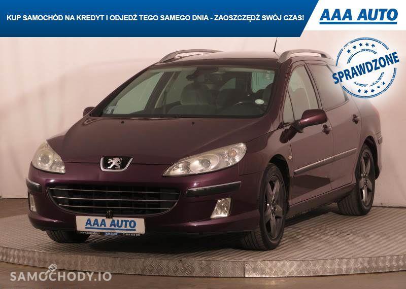 Peugeot 407 2.0, GAZ, Klimatronic, Tempomat, Parktronic, Dach panoramiczny,ALU 4