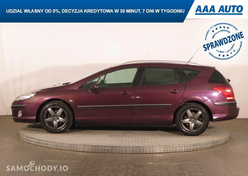 Peugeot 407 2.0, GAZ, Klimatronic, Tempomat, Parktronic, Dach panoramiczny,ALU 7