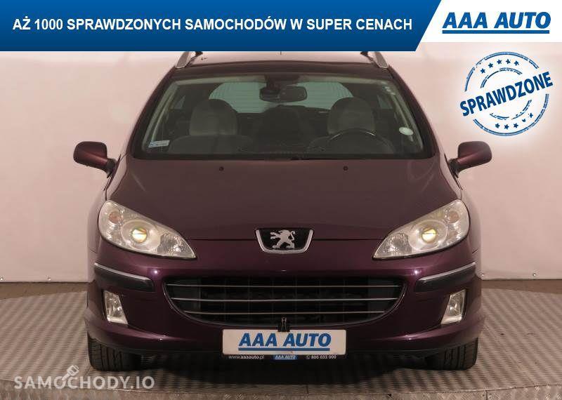 Peugeot 407 2.0, GAZ, Klimatronic, Tempomat, Parktronic, Dach panoramiczny,ALU 2