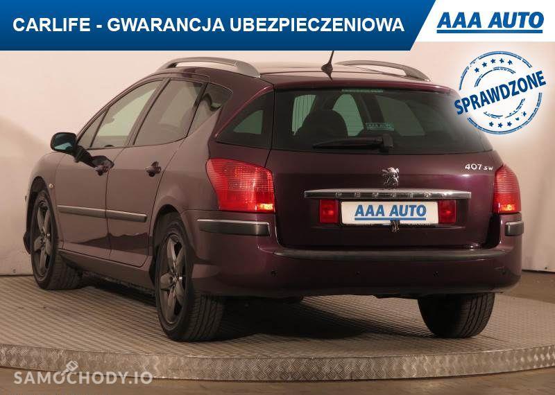 Peugeot 407 2.0, GAZ, Klimatronic, Tempomat, Parktronic, Dach panoramiczny,ALU 11