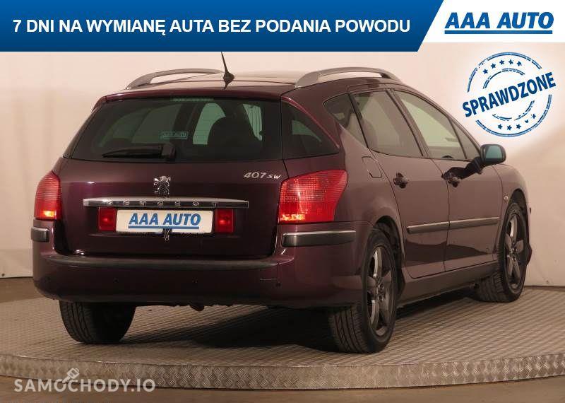 Peugeot 407 2.0, GAZ, Klimatronic, Tempomat, Parktronic, Dach panoramiczny,ALU 22