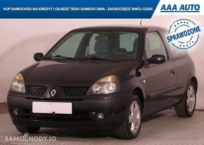 Renault Clio 1.4 16V , Salon Polska, Serwis ASO,ALU, wspomaganie Kierownicy 4