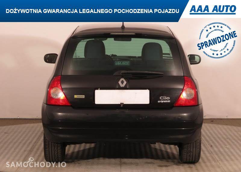 Renault Clio 1.4 16V , Salon Polska, Serwis ASO,ALU, wspomaganie Kierownicy 16