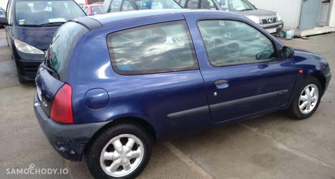 Renault Clio 1.9D 65KM, stan bdb, opłaty, KLIMA, WWA! 4