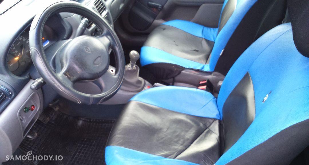 Renault Clio 1.9D 65KM, stan bdb, opłaty, KLIMA, WWA! 11