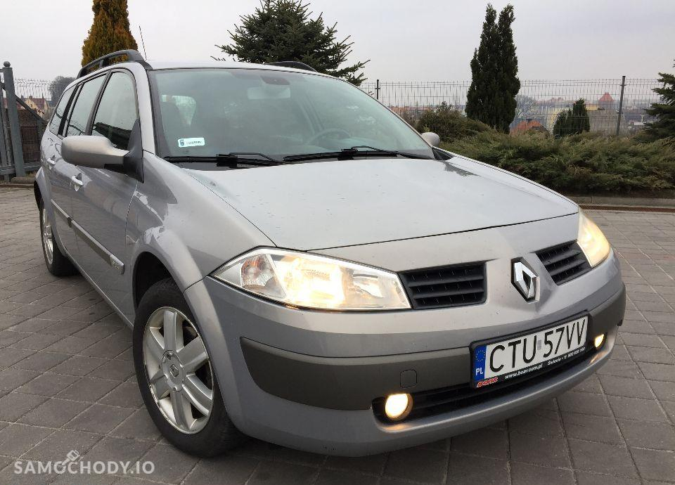 Renault Megane ŚLICZNY Renault Megane 1.9 diesel 120 KM Zarejestrowany klima Hak 2