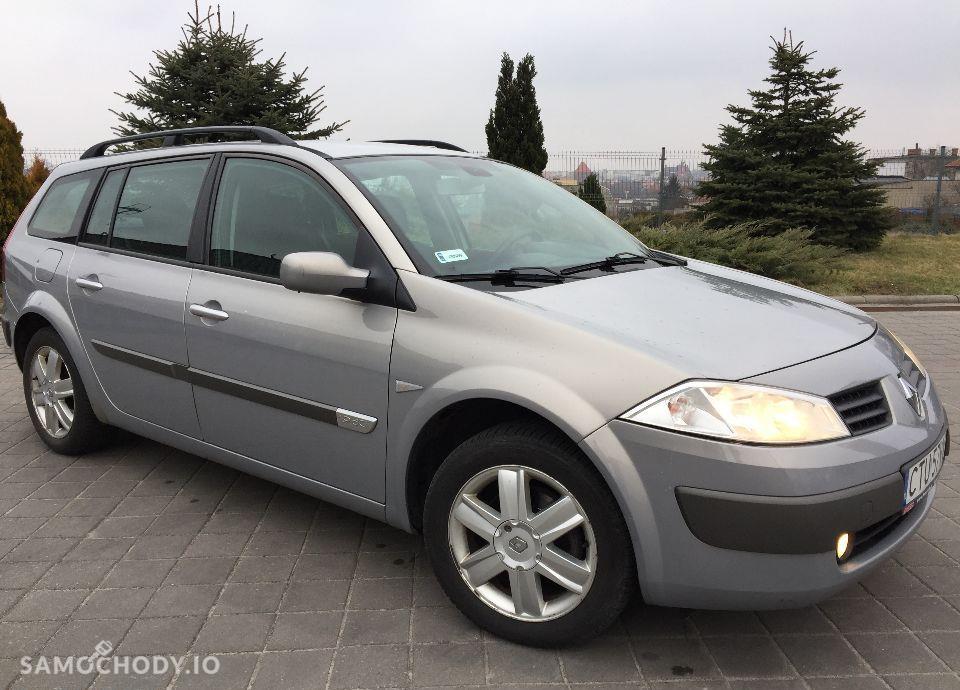 Renault Megane ŚLICZNY Renault Megane 1.9 diesel 120 KM Zarejestrowany klima Hak 4