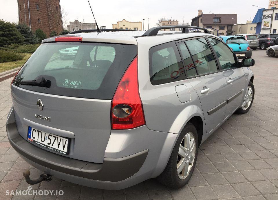 Renault Megane ŚLICZNY Renault Megane 1.9 diesel 120 KM Zarejestrowany klima Hak 11