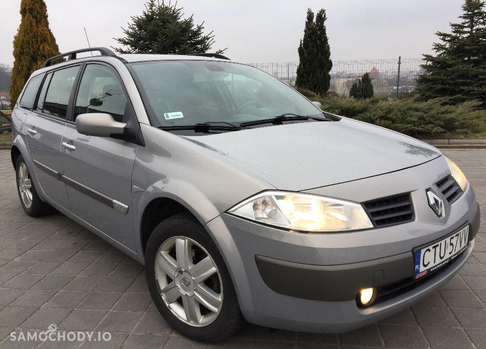 Renault Megane ŚLICZNY Renault Megane 1.9 diesel 120 KM Zarejestrowany klima Hak 46