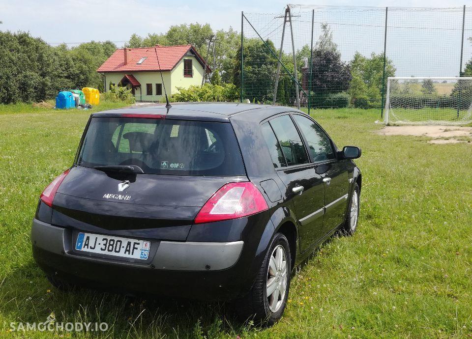 Renault Megane Renaul Megana II 1,6 16 V tylko 120TYS.przebiegu książka serwis!! 4