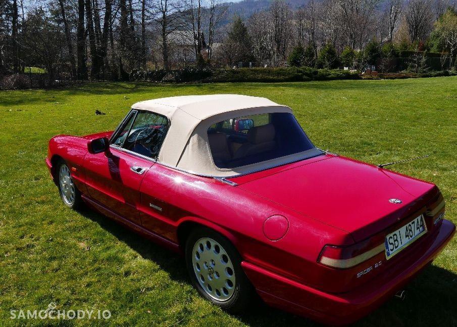 Alfa Romeo Spider KLASYK , 177 KM , BEZWYPADKOWY  2