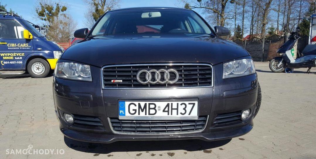 Audi A3 8P (2003-2012) alufelgi, 138 KM, czujniki parkowania 1
