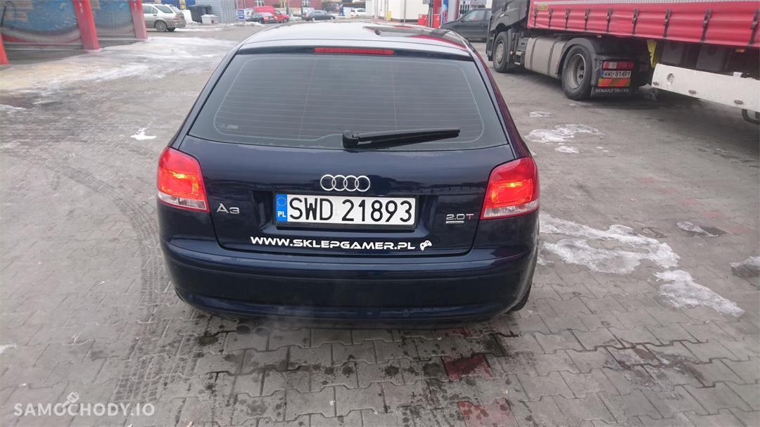 Audi A3 8P (2003-2012) Audi A3 8P 2.0TFSI + LPG OC i Przeglad do 2018  2