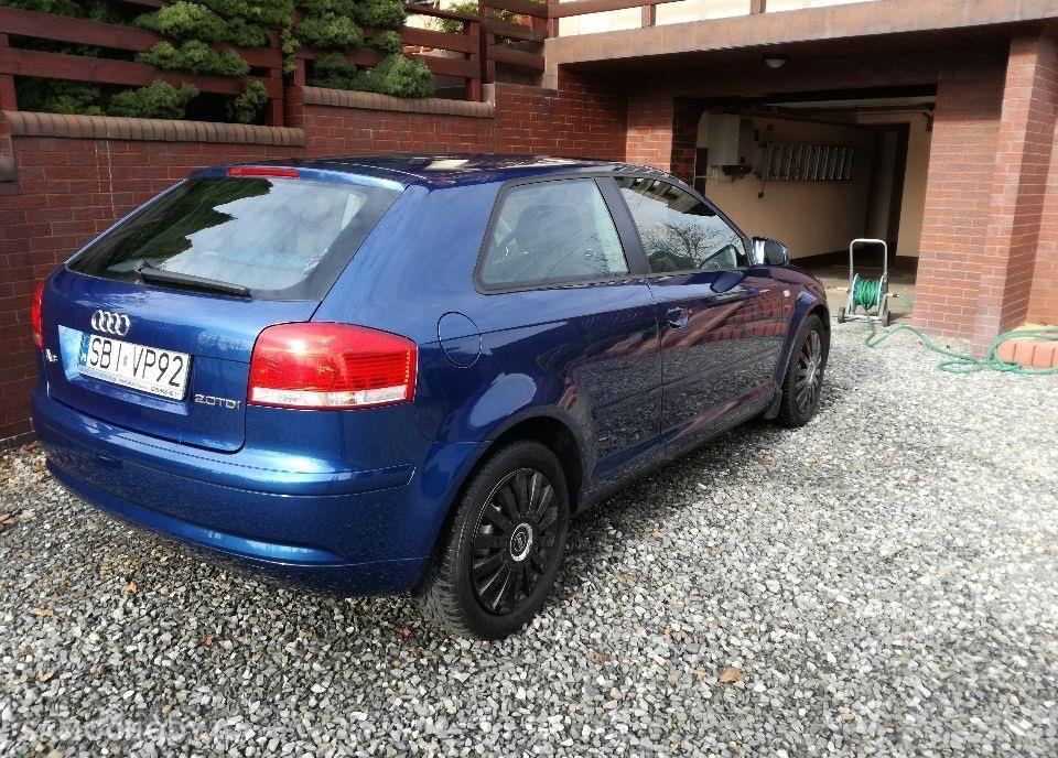 Audi A3 8P (2003-2012) Diesel 2.0 140KM 2003r 2