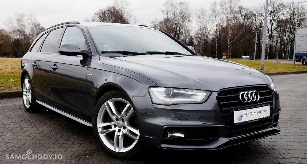 Audi A4 B8 (2007-2015) S-LINE pakiet Xenony el. klapa bagażnika vat 2