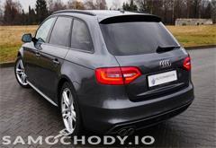audi z województwa małopolskie Audi A4 B8 (2007-2015) S-LINE pakiet Xenony el. klapa bagażnika vat