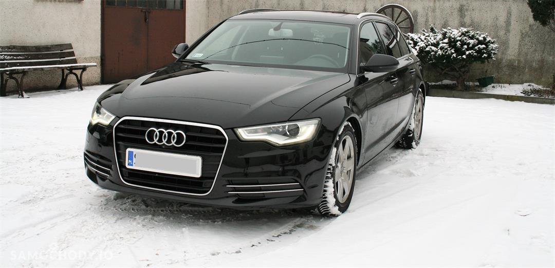 Audi A6 C7 (2011-) Oferta Prywatna Avant 177tkm LED Xenon BOSE Panorama Skóra Havana Black 1 wł PL  1