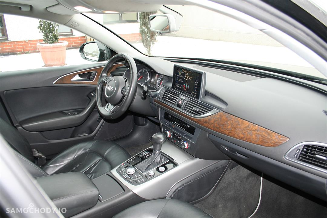 Audi A6 C7 (2011-) Oferta Prywatna Avant 177tkm LED Xenon BOSE Panorama Skóra Havana Black 1 wł PL  22