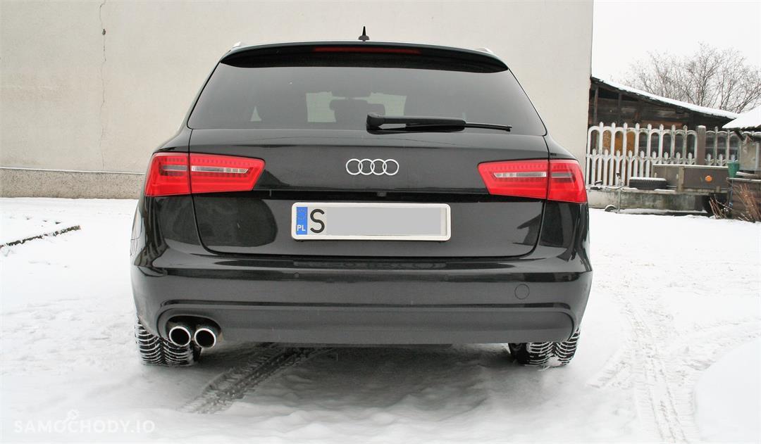 Audi A6 C7 (2011-) Oferta Prywatna Avant 177tkm LED Xenon BOSE Panorama Skóra Havana Black 1 wł PL  11