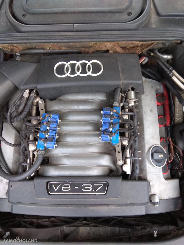 Audi A8 D3 (2002-2010) Audi A8 D3 3.7 280 KM PB+LPG 2003r Łopatki, Quatro, Doinwestowany 37