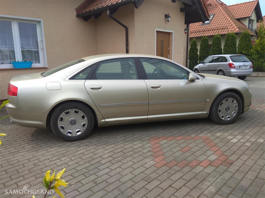 Audi A8 D3 (2002-2010) Audi A8 D3 3.7 280 KM PB+LPG 2003r Łopatki, Quatro, Doinwestowany 1