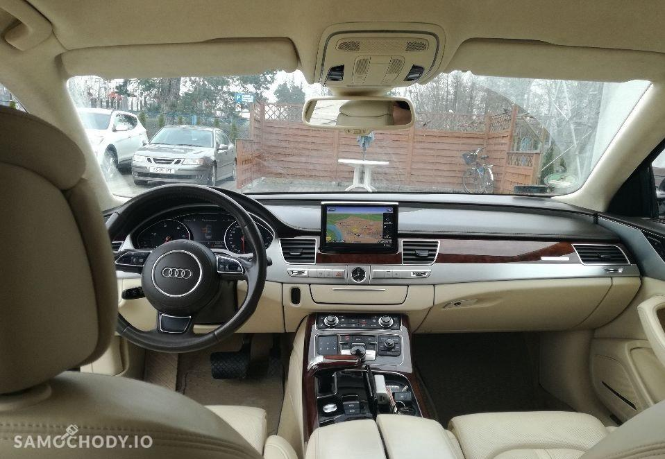 Audi A8 D4 (2010-) bogate wyposażenie, bezwypadkowy, aktualne ubezpieczenie 4