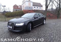 z wojewodztwa mazowieckie Audi A8 D4 (2010-) Auto Kupione w polskim salonie