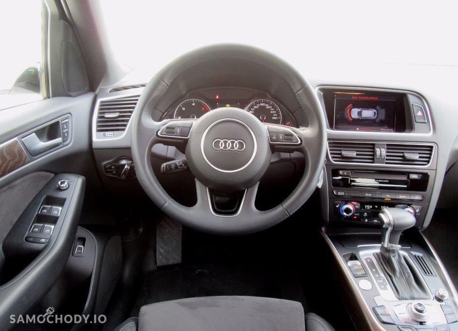 Audi Q5 xenony, gwarancja fabryczna , sportowa kierownica , pierwszy właściciel 4