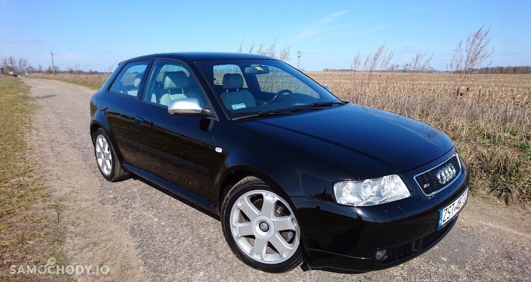 Audi S3 8L (1996-2003) garażowane , 6 głośników + subwoofer , quattro , xenony  1