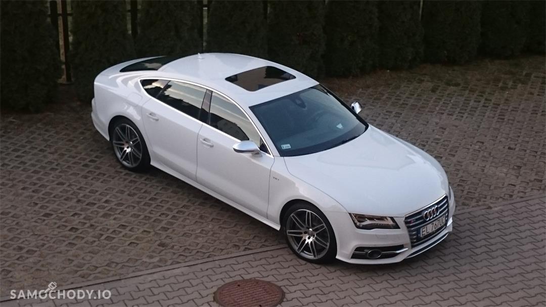 Audi S7 AUTO 100% BEZWYPADKOWE (raport z Audi Serwis do wglądu) 2