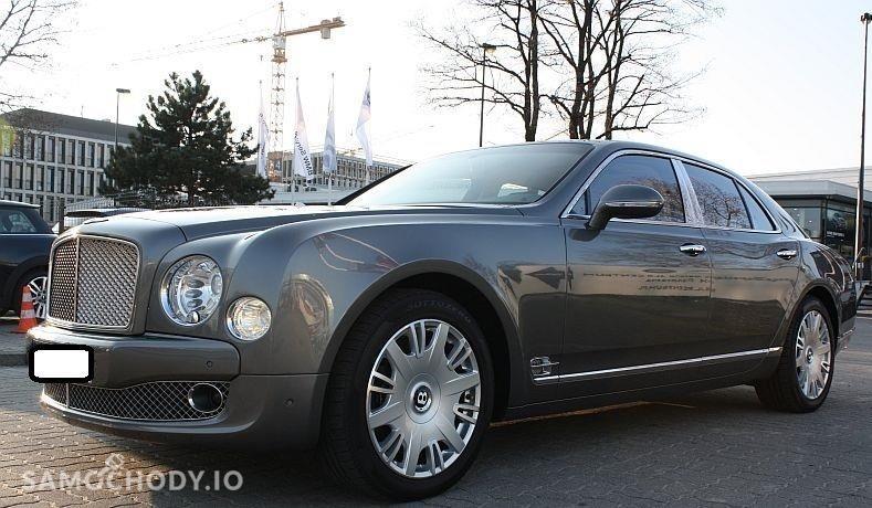 Bentley Mulsanne AUTOMAT , FABRYCZNA GWARANCJA , SERWISOWANY  1