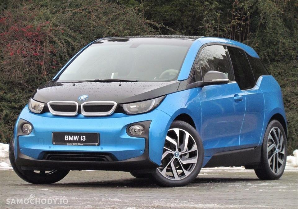 BMW i3 Niebieski Protonic z akcentem w kolorze szarym Frozen 1