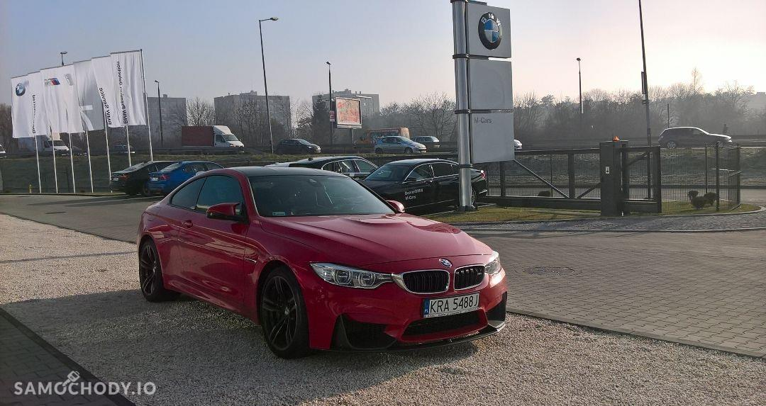 BMW M4 Individual w kolorze FERRARI RED 2