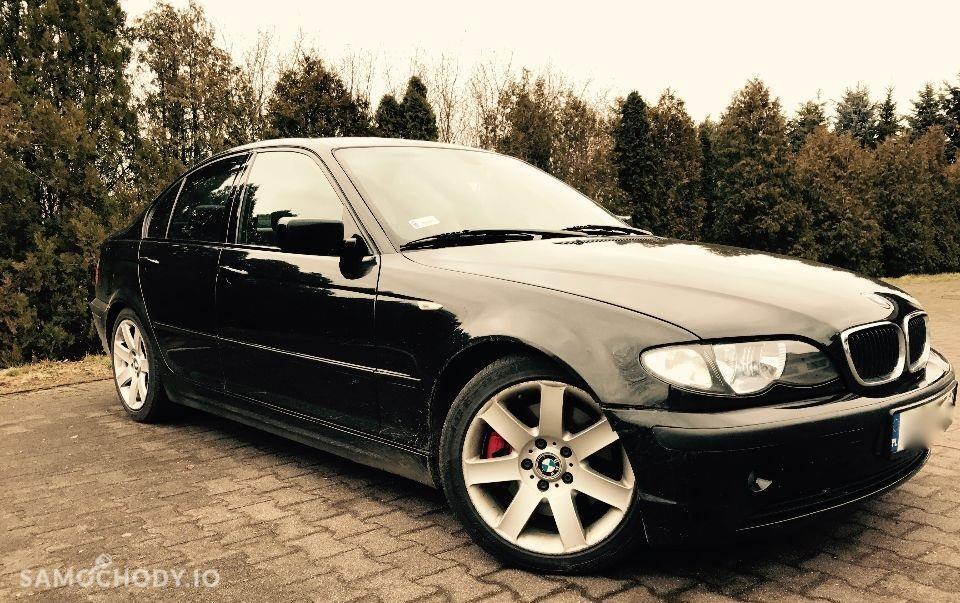 BMW Seria 3 E46 (1998-2007) E46 Black Carbon 3.0 204KM stan bardzo dobry 410NM 2