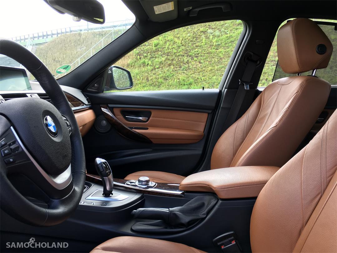 BMW Seria 3 F30 (2012-) BMW F30 EUROPA Benzyna Bezwypadkowa,Aso,Skóra,Navi,xenon, head-up, szyberdach FULL LED .ZAMIANA  22