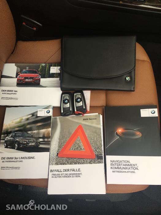 BMW Seria 3 F30 (2012-) BMW F30 EUROPA Benzyna Bezwypadkowa,Aso,Skóra,Navi,xenon, head-up, szyberdach FULL LED .ZAMIANA  29